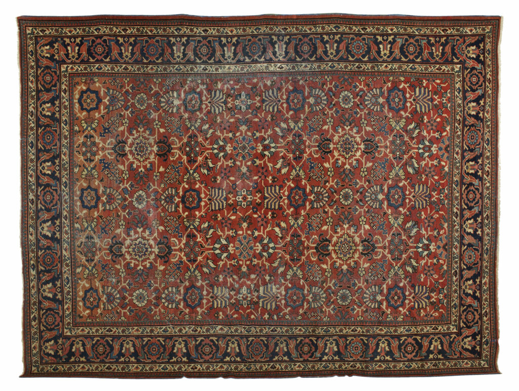 Antique Persian Mahal Pars Rug Gallery