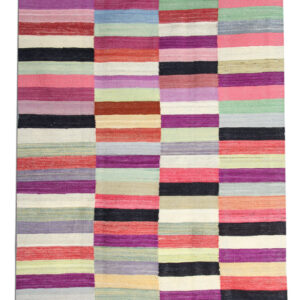 Multicoloured HAndwoven Kilim Rug