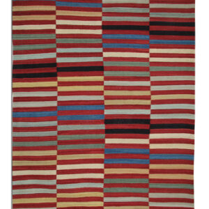 Multi-coloured Moderk Kilim Rug