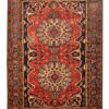 Antique PErsian Bakhtiyar Rug. Oriental design.