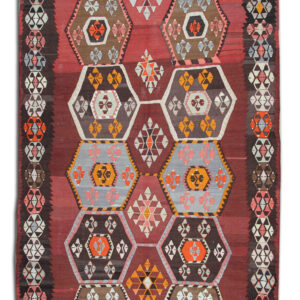 Anatolian Antique Kilim Rug