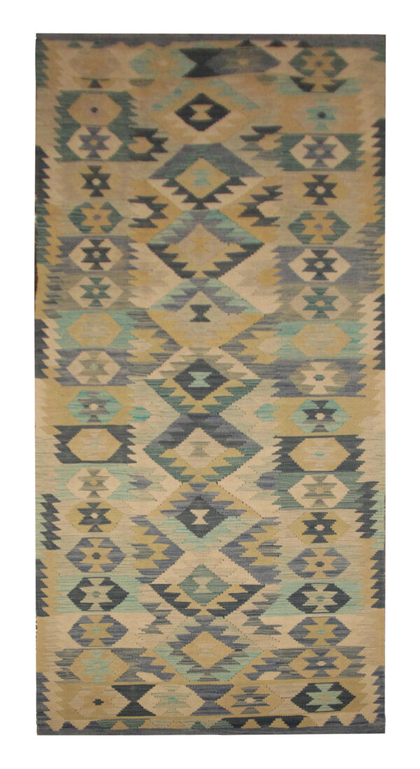New Traditional Kilim Runner Rug